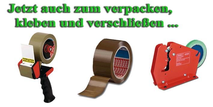Packband, Klebeband, Abroller online bestellen