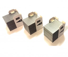 Heftklammern Staple 2000 passend für Toshiba Kopierer | 3 x 5.000 Stück