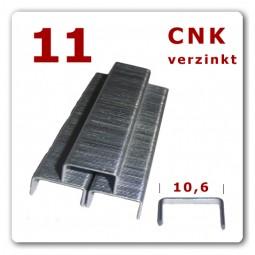 11/6 - 11/9 - 11/14 mm Heftklammern verzinkt * 5.000 Stück