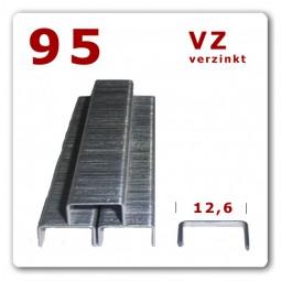95 / 6-16 mm D- Heftklammern verzinkt 5.000 Stück