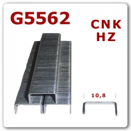 G 5562 | 32-63 mm | verzinkt Harz Heftklammern * 10.000 Stück