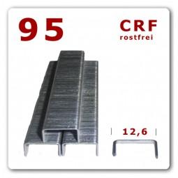 Heftklammern 95 ( D) rostfrei   10 - 14 mm Edelstahl Meißelspitze   5.000 Stück