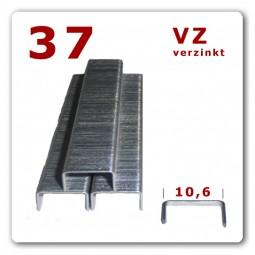 Heftklammer 37 | 4 - 10 mm | verzinkt * 5.000 Stück