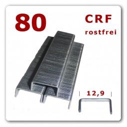 80/6 - 80/8 - 80/10 - 80/12 - 80/14 mm - rostfreie V2A Edelstahlklammern