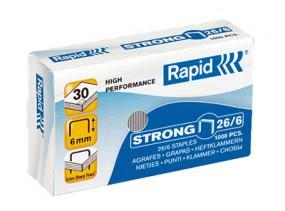 Rapid 26/6 Strong Heftklammer , verzinkt Inhalt 1000 Stück