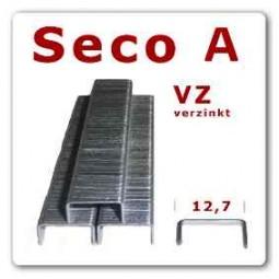 Heftklammer Seco A | 8 - 16 mm | verzinkt * 5.000 Stück