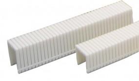 Heftklammern Kunststoff | 10 mm rostfrei | 1.000 Stück