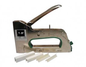 Handtacker T-37 | für T-Stifte und Klammern aus Kunststoff | 1 Stück
