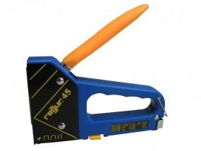 Regur 45 Multi Handtacker für Heftklammern, Brads und Stifte