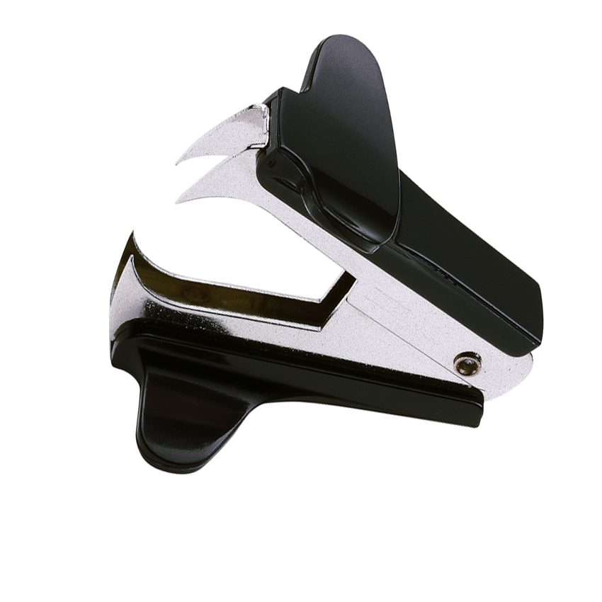 55 mm Enthefter NOVUS B80 schwarz Heftklammerentferner
