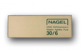 Nagel 30/6 mm Heftklammern