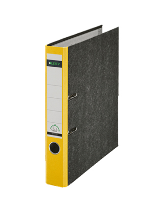Leitz-Ordner-1050-gelb