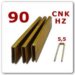 90 | 15-40 mm | Heftklammern verzinkt Harz