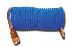 Spiralschlauch 7,5 m komplett mit Anschlüssen
