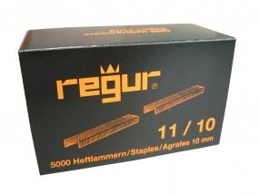 Heftklammern Regur 11/10 | 10 mm verzinkt | 5.000 Stück