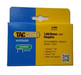 Heftklammern Tacwise 140 | 6-14 mm | 2.000 Stück